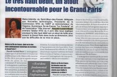 Grand Paris et Aménagement Numérique du territoire