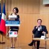 Madame la  Ministre en charge du Numérique et Bernard Benhamou pour la DUI à Bercy le 19 02 2013