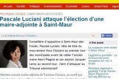 Recours inéligibilité Mairie de Saint-maur