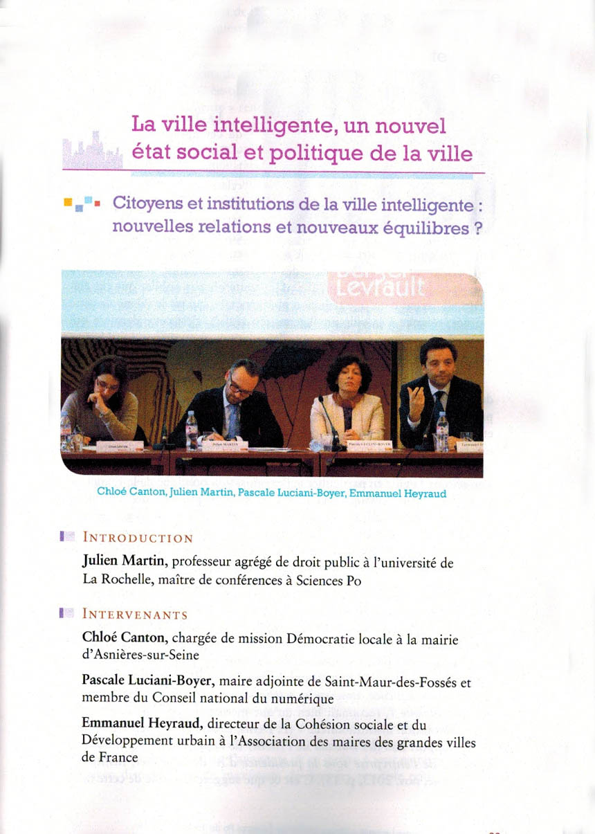 ville intelligente ville democratique 1