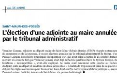 Tribunal Administratif valide le recours porté par Pascale Luciani