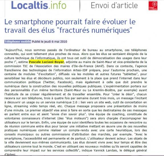 localtis mai 2010