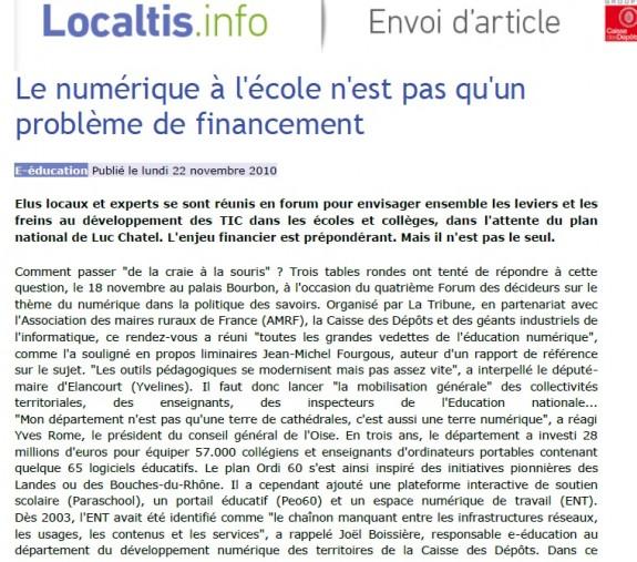 localtis nov 2010